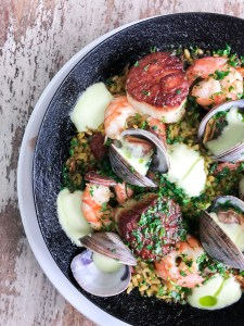 Seafood Paella Recipe made easy!