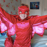 PJ Masks Owlette Costume Review