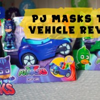 PJ Masks Toy Vehicles Review