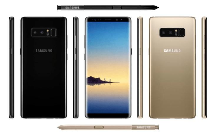 Galaxy Note 8 filtracion