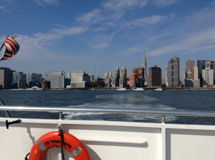 New York from the East River Ferry