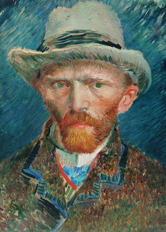 self portrait by van gogh poster