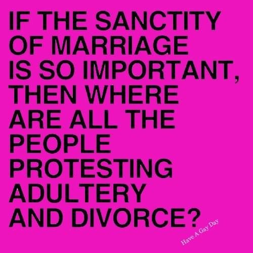 sanctity of marriage