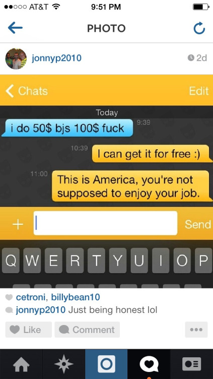 Grindr money boy
