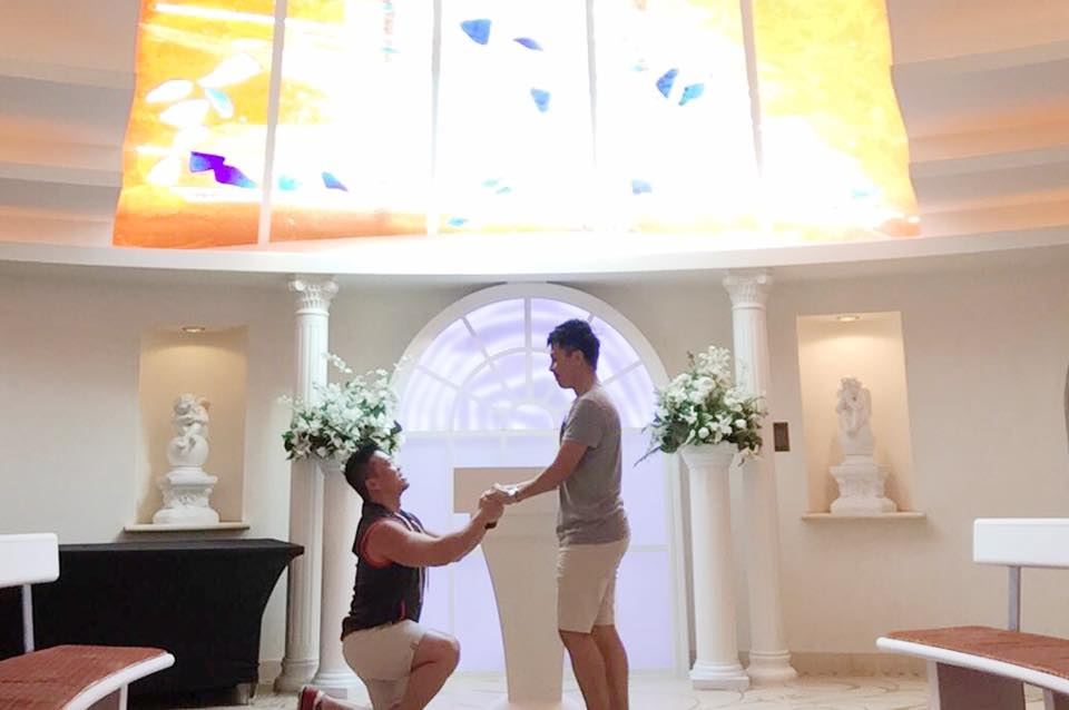 Sean and Edmund Proposal