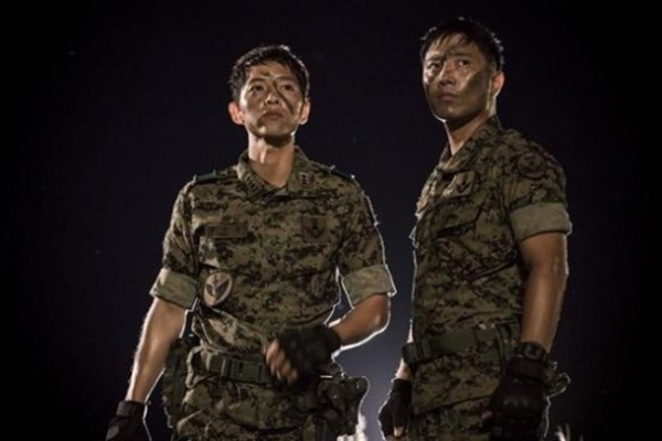 Army hunk