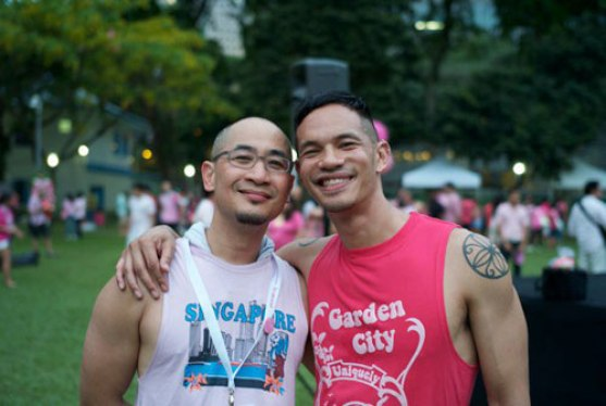 Laurindo Garcia and Alan Seah Pink Dot