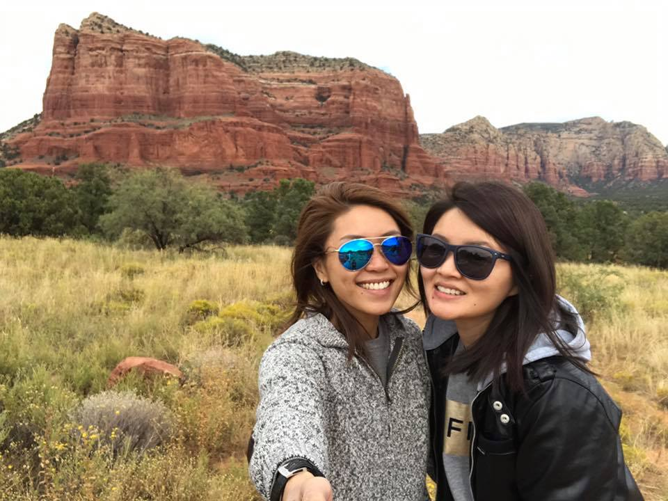 Gillyn and Jolyn US holiday