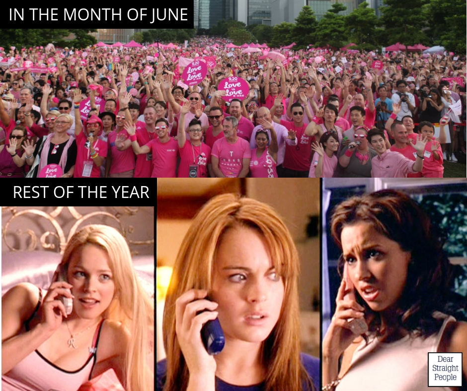 In the month of june