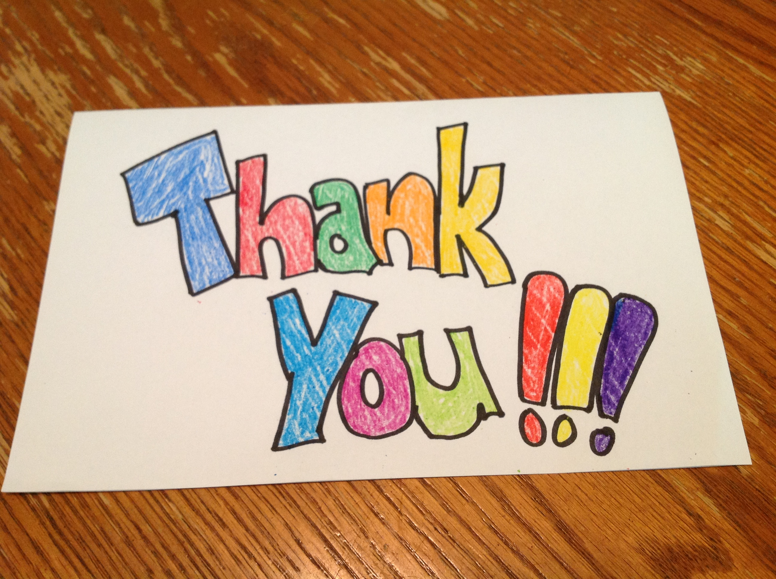 Thank You Note From Another Teacher Who Was Once A
