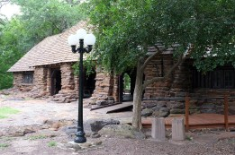 Refectory built by the Civilian Conservation Corps