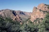 The view across Green Gulch