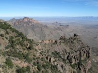 Rocky view from the South Rim