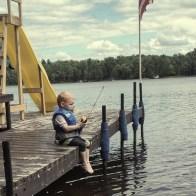 Charlie Fishing in WI