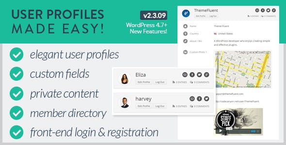 User Profiles Made Easy – WordPress Plugin