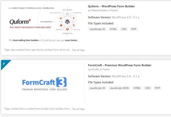 Top 6 WordPress Form Plugin
