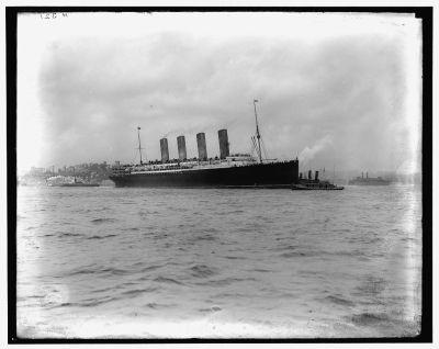 Cunard Line's Lusitiania