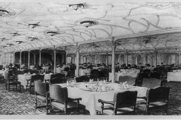 Olympic First Class Dining Saloon