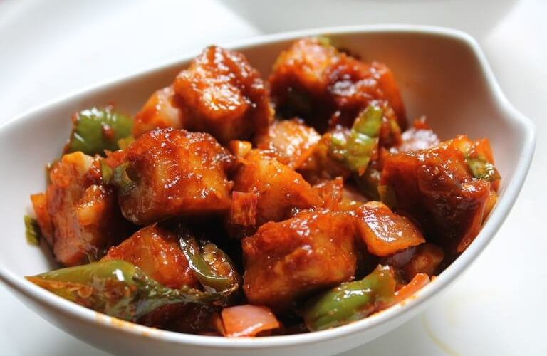 How to Make A Tasty Chilli Paneer Recipe Step By Step At Home Easily  Ingredients Required For Making Tasty Chilli Paneer