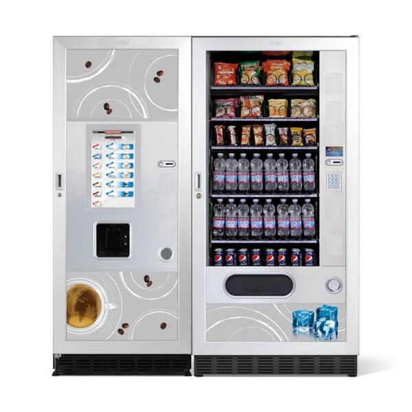 Maquinas expendedoras de cafe y snaks Fas