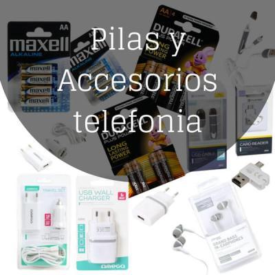 Pilas y accesorios telefonia