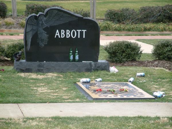 Dimebag Darrell Abbott Gravesite