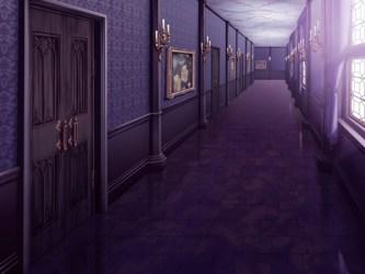 hallway bright messiah night walking ryouta legs