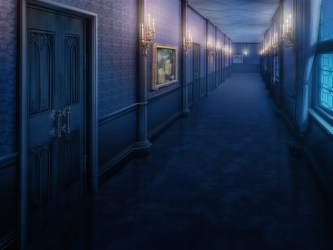 hallway night messiah candle lit hall scary down takuto clean