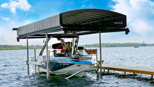 boat lift covers Archives  Deatons Waterfront Services