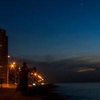 """Pesca """"Al Globo en el Malecón de la Habana"""""""