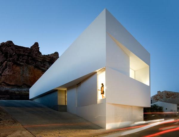 Moderne spanische Architektur von Fran Silvestre Arquitectos