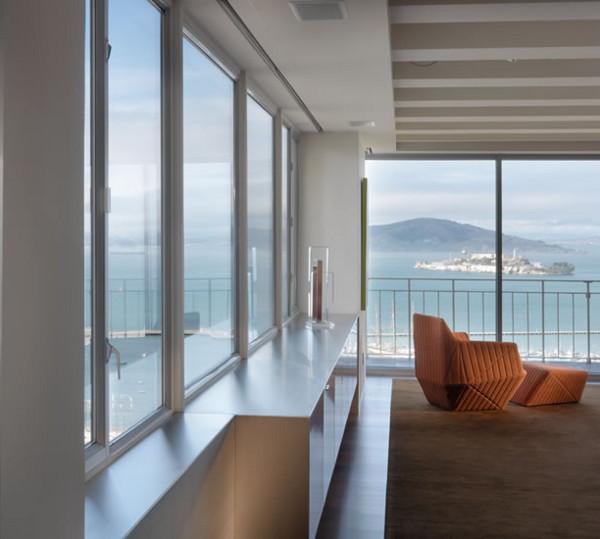 Modernes Loft Design Mit Spektakulrem Blick Auf San Francisco