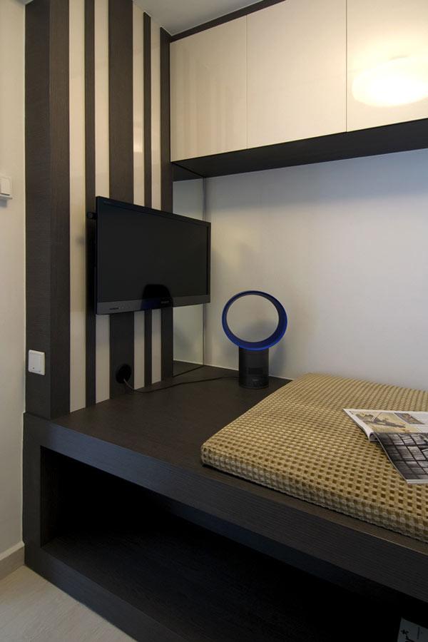 Erstaunliche moderne Wohnungsrenovierung von KNQ Associates