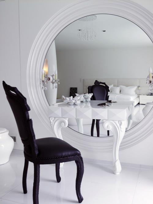 schminktisch vintage schwarz | designmore, Möbel