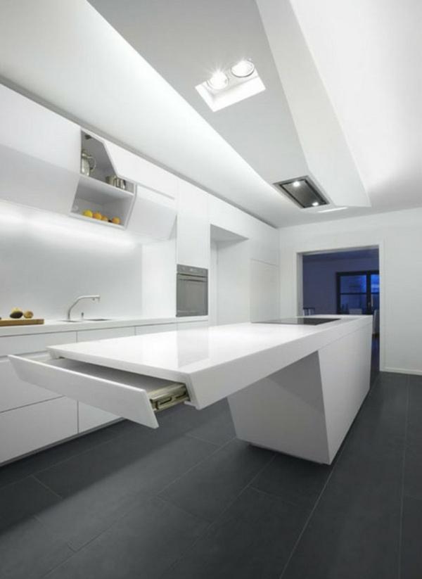 Minimalistische Weiße Küche Vom Elmar Studio ...