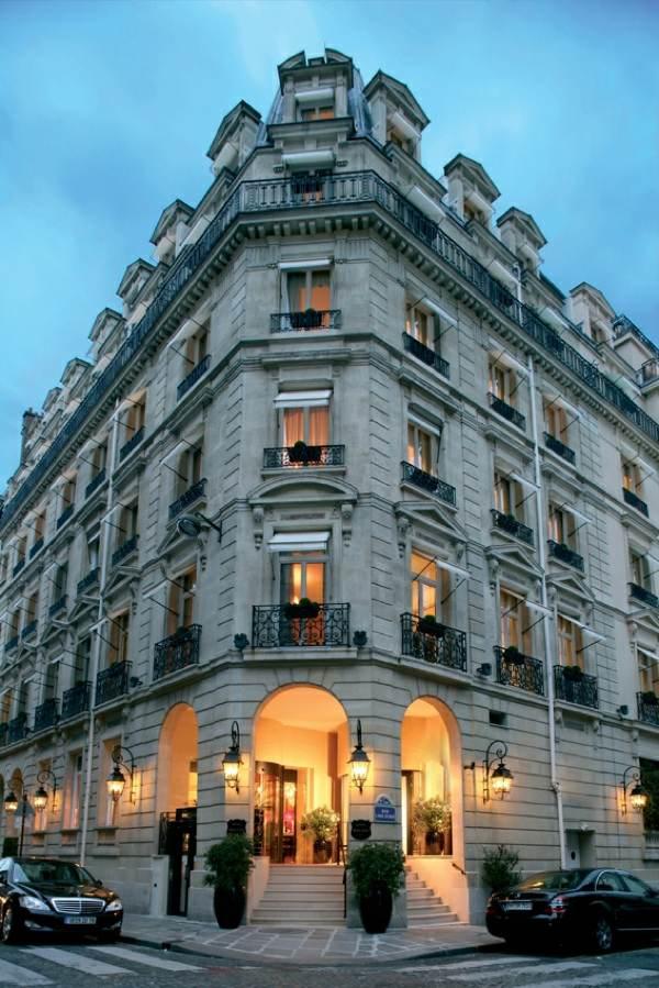 Luxus Hotel Interieur  Hotel Balzac in Paris von ANGELO CAPPELLINI
