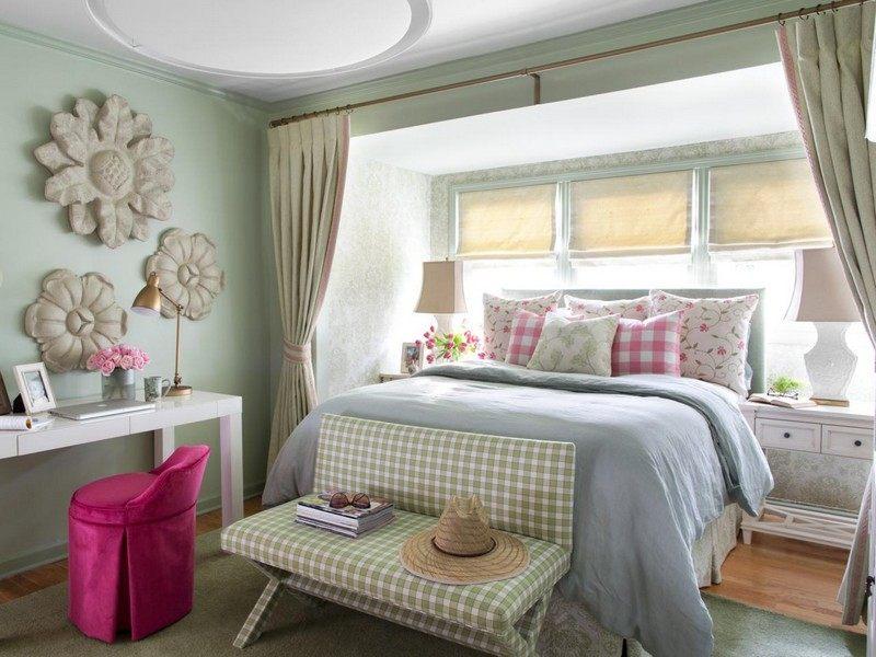 schlafzimmer edel gestalten  graue wand im wohnzimmer