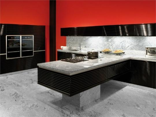 Moderne Kchen von De Rosso  Die Velve Kollektion