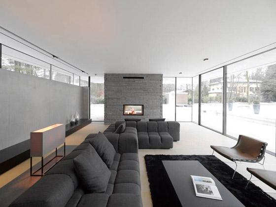 Modernes minimalistisches Hausdesign  Haus M in Deutschland