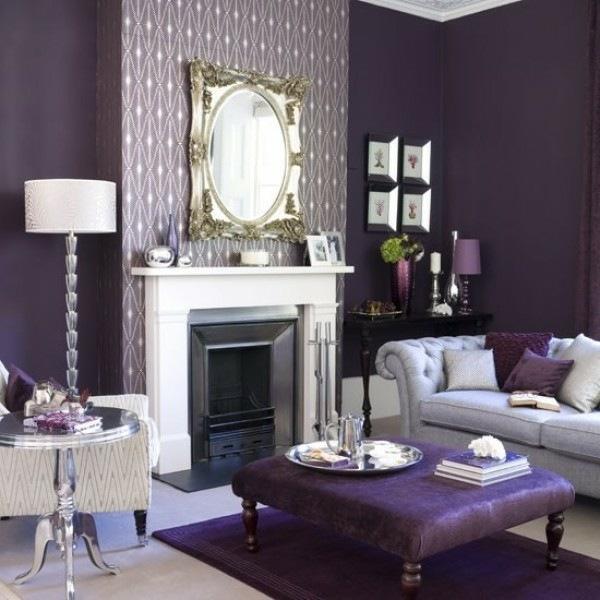 awesome lila wohnzimmer deko vorhang ideen wohnzimmer deko in lila