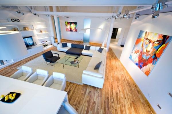 Elegantes Interieur nach Wohnung Renovierung  Idee aus London
