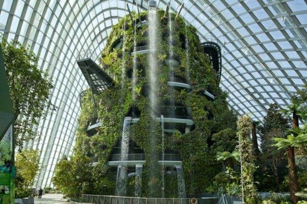 Der Neue Spektakuläre Botanische Garten In Singapur