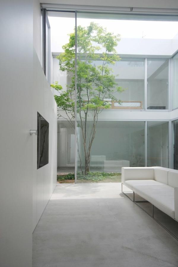 Minimalismus pur in der japanischen Architektur von