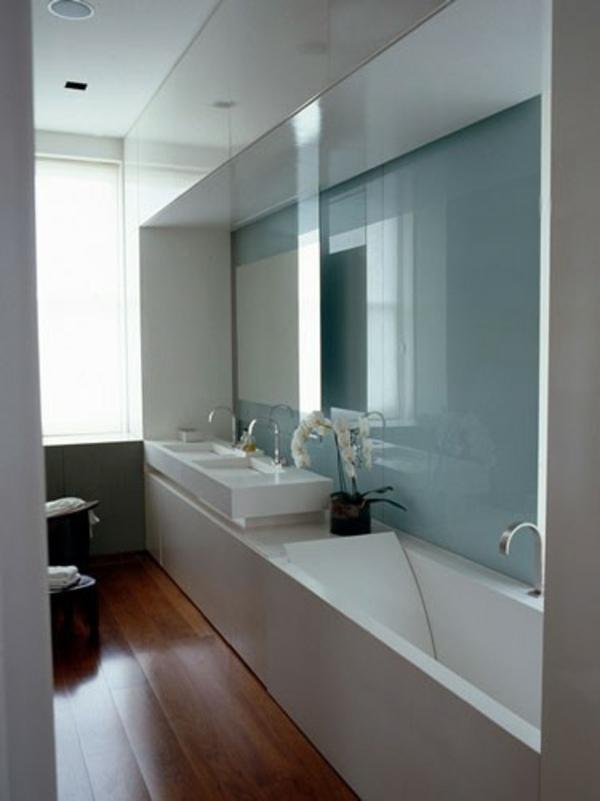 20 Ideen fr kleines Bad Design  platzsparende Badewanne
