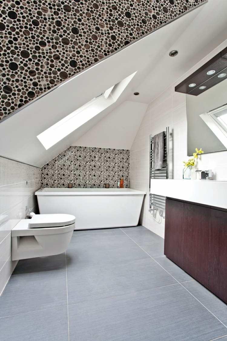 27 Design Ideen fr Badezimmer mit Dachschrge