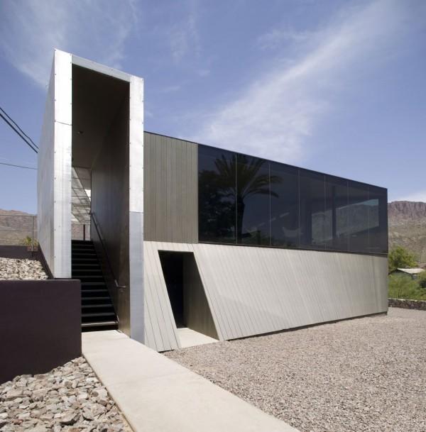 Der Moderne Minimalismus  Haus In Arizona