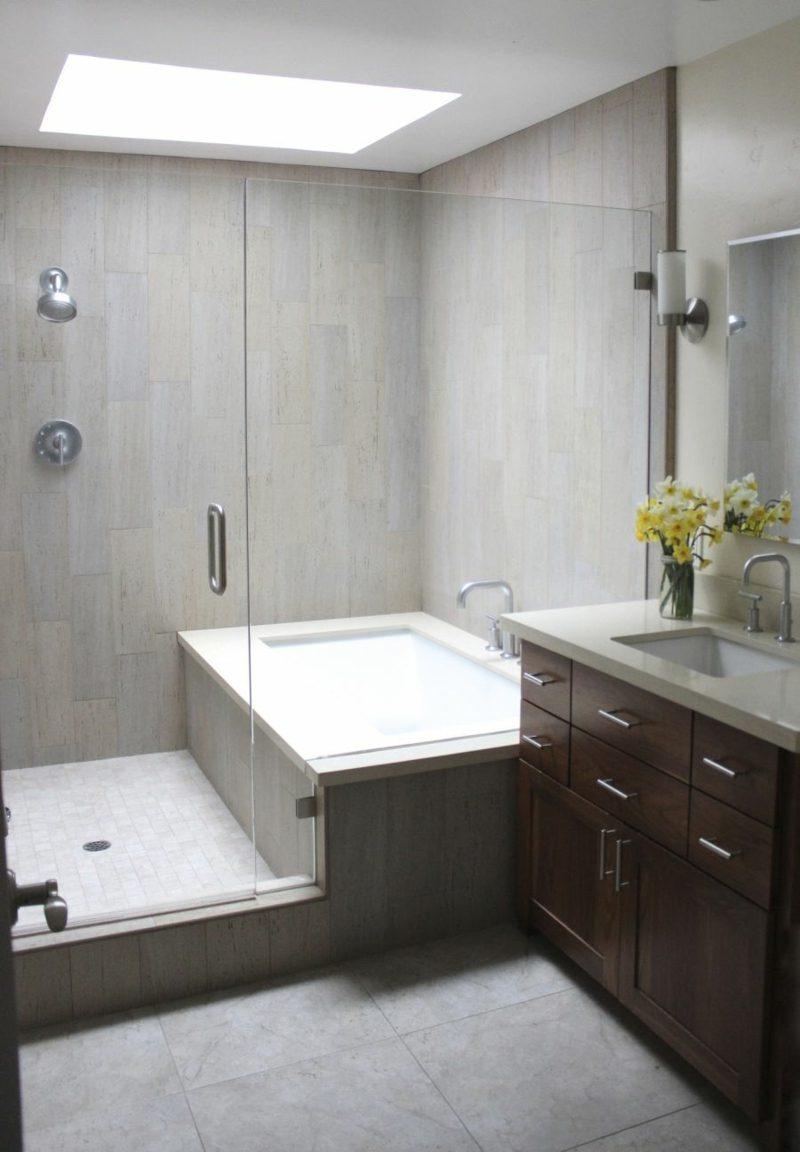 20 Ideen F 252 R Kleines Bad Design Platzsparende Badewanne