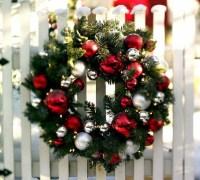 Schne Ideen und Auendekoration fr Weihnachten