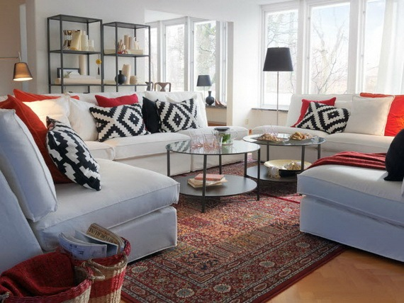 ikea showroom living room tan sofa ideas 25 wohnzimmer design ideen von