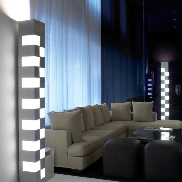 Die moderne Stehlampe  ein dekorativer Blickfang in Ihrer Wohnung